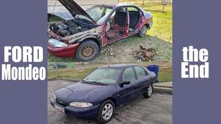 Восстановление Форд Мондео из утиля. Шумоизоляция, детейлинг, покраска.