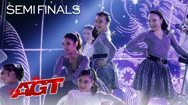 UniCircle Flow Delivers a STUNNING Performance to Physical by Dua Lipa America's Got Talent 2021