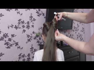 МАСТЕР - КЛАСС (причёска)