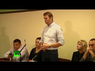 Суд изменил Навальному реальный срок на условный