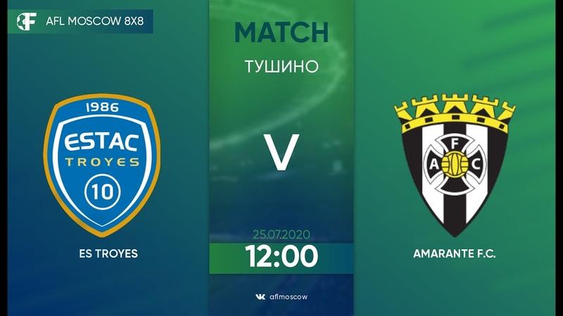 AFL20. Euroleague С2. Day 4. ES Troyes - Amarante F.C.