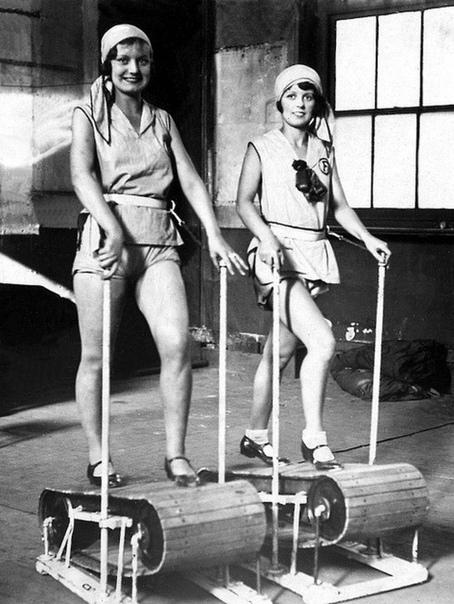 Беговые дорожки в 1920-х годах.