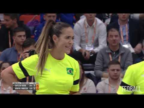 TEQBALL Teqball World Championships 2019 Mixed Doubles Final Hungary vs Brazil