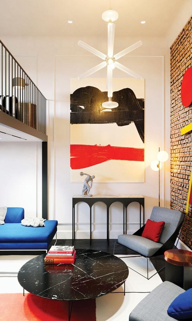 Авангардная революция: квартира в центре Санкт-Петербурга, оформленная дизайнером Вадимом Мальцевым