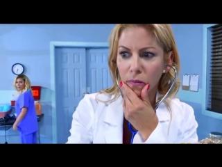 Alexis Fawx Marsha May Threesome with horny nurses in hospital room Sex prank