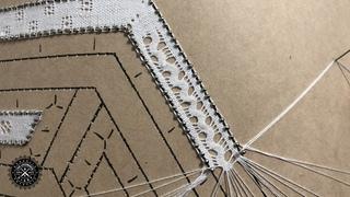 Punto Serpentina | Tombolo Tutorial