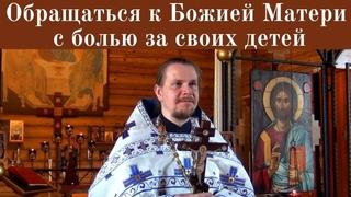Похвала Пресвятой Богородицы.  Проповедь протоиерея Алексия о Тайне Креста на Литургии г.