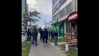 Ходыревские боевики осадили штаб КПРФ в Королёве. Первый день выборов 17.09.21