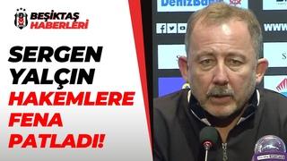 """Sergen Yalçın:""""Bizim Maçlarımızda Hakemlerin Kırmızı Kartı Yok Mu?"""" / Beşiktaş 3-1 Kayserispor"""