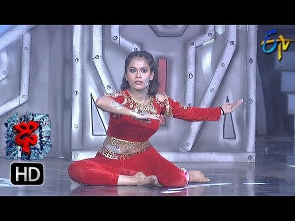 Swetha Performance Dhee 10 30th May 2018 ETV Telugu