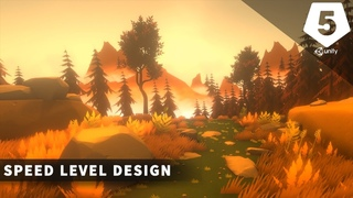 Stylized Low Poly   Speed Level Design (Unity 5)