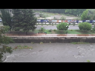 Небольшой дождик 15 июля 18 года