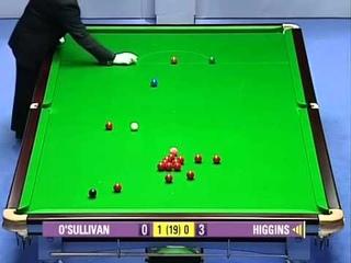 2005 Snooker the Masters Final Ronnie O'Sullivan vs John Higgins Frame 1-4