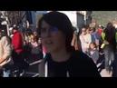 Plusieurs centaines de personnes manifestent contre le port du masque à l école dès 6 ans à Prades