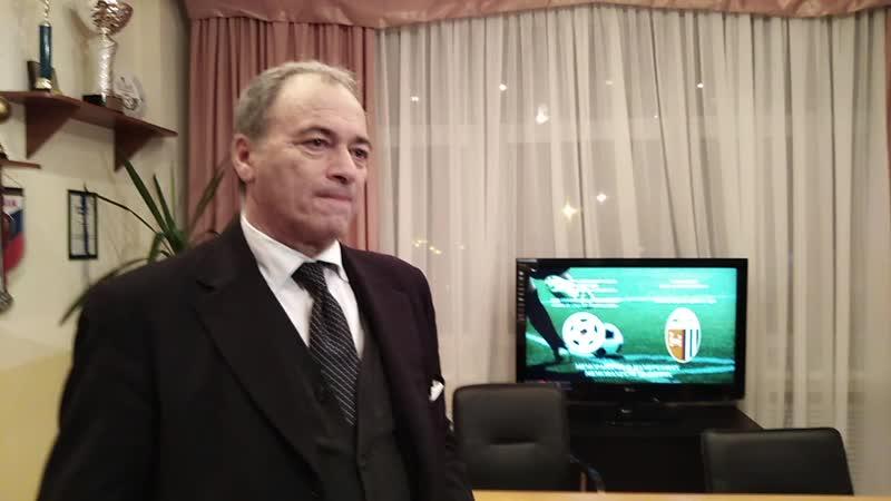 Президент Асколи Карло Нери: Возможно, сыграем в Липецке уже этим летом