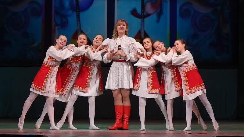 Алина Милькичева и шоу балет эстрадного танца Креатив Балалаечка