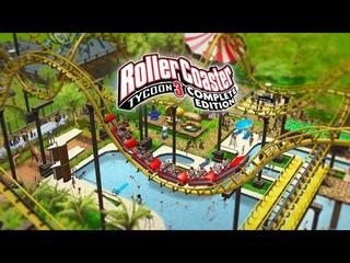 Стрим RollerCoaster Tycoon 3: Complete Edition (OBS). ДАЖЕ ОБУЧЕНИЕ НА АНГЛИЙСКОМ СЛОЖНОЕ...