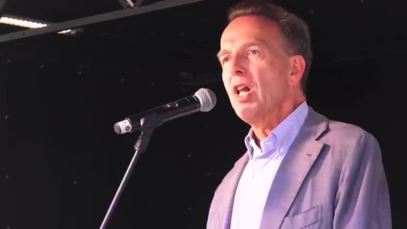 BfeD Prof Stefan Homburg Rede Stuttgart 9 5 2020 Corona Widerstand gegen Grundrechtseinschränkungen