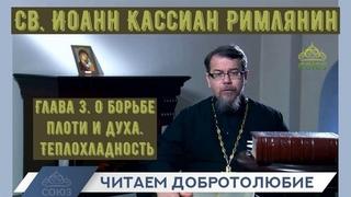 Наставления св. Иоанна Кассиана. Глава 3. О борьбе плоти и духа.  Иерей Константин Корепанов