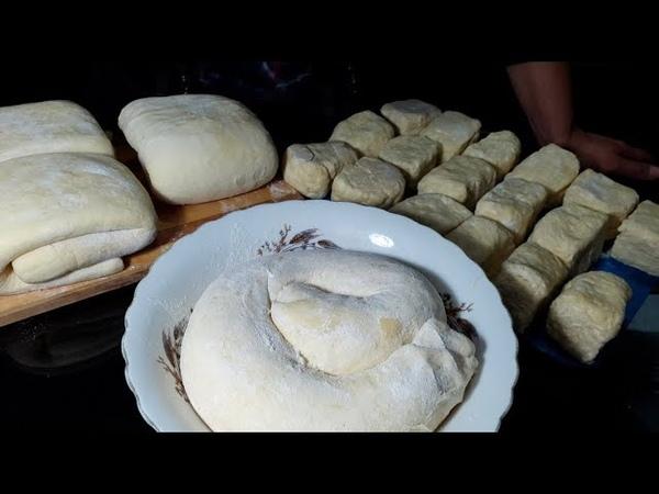 3 способа приготовления слоеного теста Three ways to prepare puff pastry dough