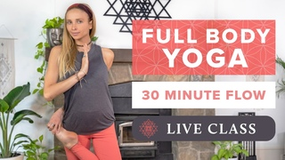 30 Min Full Body Yoga Class | Feel Good Yoga Flow - Live w/Juliana Spicoluk