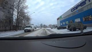 Авдеевка. Первый снег.