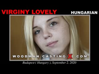Virginy Lovely (CASTING X 228) [2020, Gonzo, Hardcore, Anal, 720p]