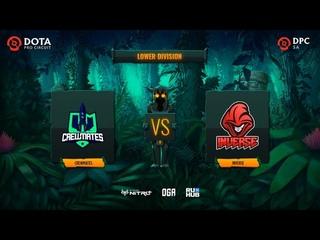 Crewmates vs Inverse, OGA DPC SA Season 2, bo3, game 2 [Smile & Maelstorm]