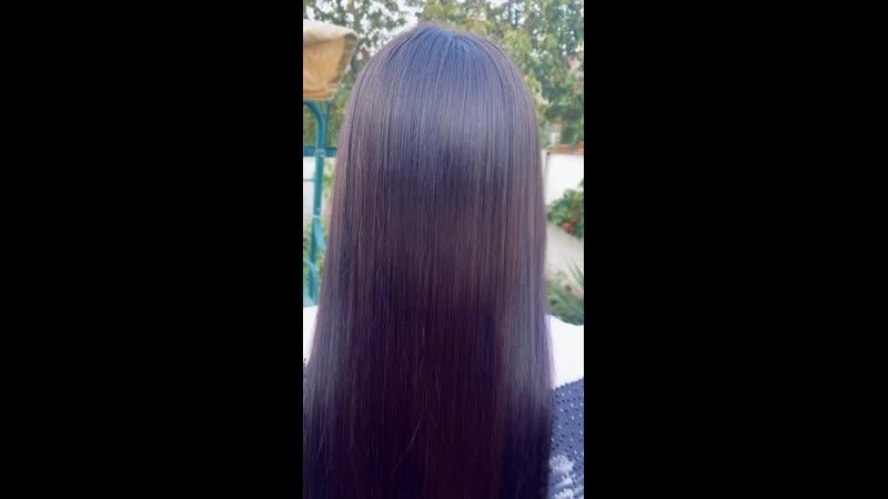 Ботокс волос результат 2 🔥