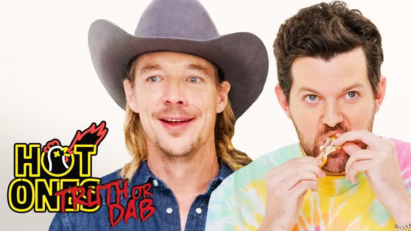 Diplo and Dillon Francis Play Truth or Dab ¦ Hot Ones