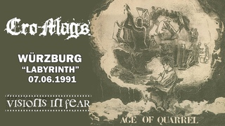 """Cro-Mags - Würzburg """"Labyrinth""""  (full show)"""
