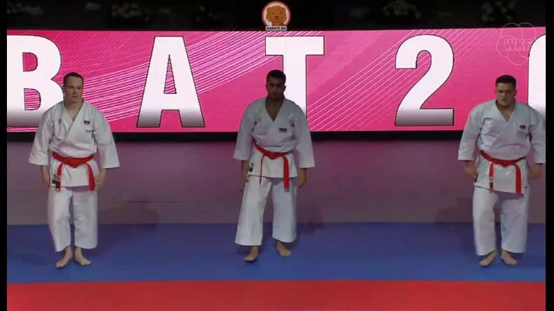 Open Rabat 2019: Россия - Турция. Финал мужского командного ката