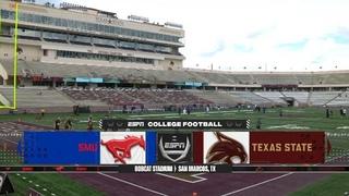 NCAAF 2020-2021, Week 01, SMU Mustangs - Texas State Bobcats, EN