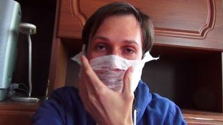 История о COVID-19 и маске от коронавируса, которую мне дали бесплатно в Пятёрочке.