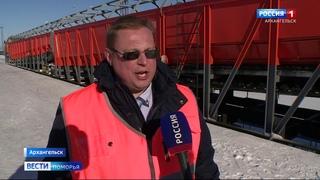 Более 400 тысяч кубометров снега вывезли в этом сезоне с железных дорог области