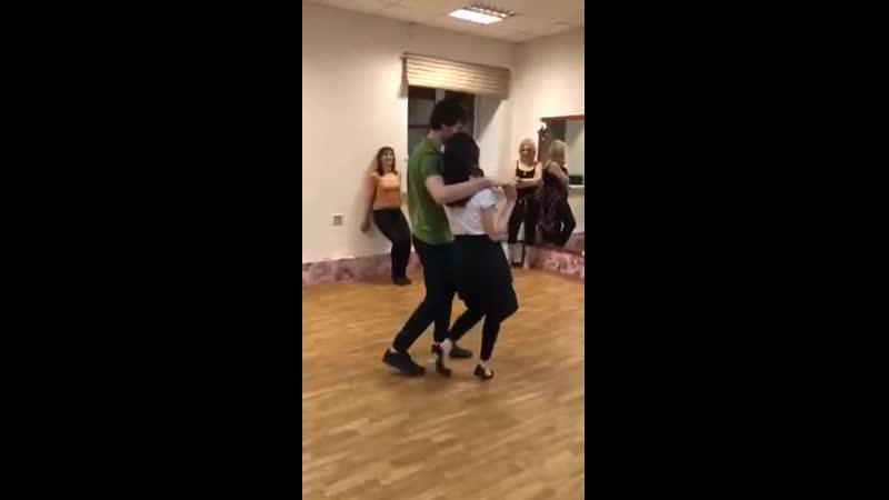 Танец с Ириной Габриэль