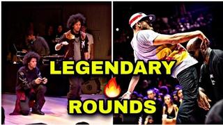 WHEN DANCERS DECIDE TO MAKE A LEGENDARY ROUND - Les twins , Waydi, Rochka , Tight Eyez, Kefton .....