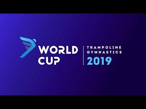 FIG WORLD CUP 2019 KHABAROVSK. QUALIFICATIONS. SYNC TRAMPOLINE MEN WOMEN