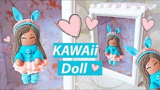 DIY Кавайная кукла из легкого пластилина | Копилка
