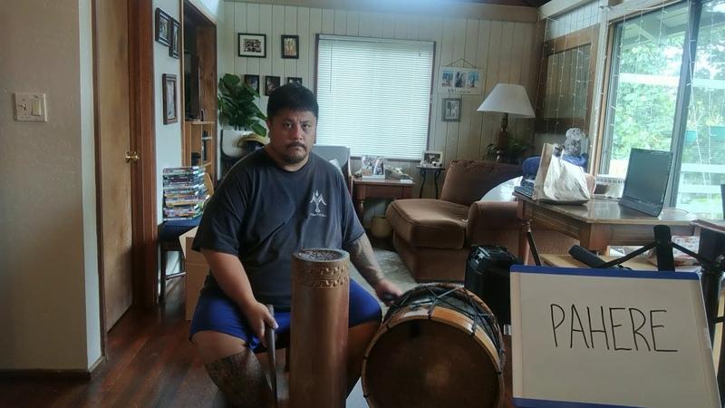 Tahitian Drum Beats Pahere Toere w Tari Parau