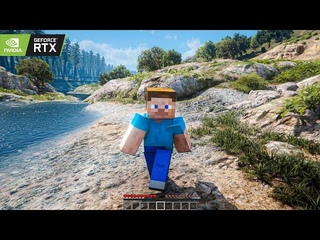 Minecraft 4K: RTX ON Gameplay! Maxed-Out Ultra Ray Tracing Gameplay on RTX 3090 [GTA 5 PC Mods]
