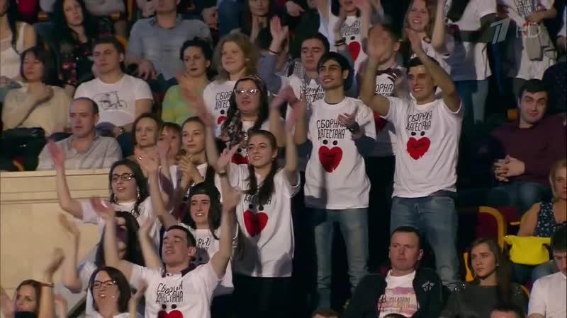 КВН Сборная Дагестана 2015 Высшая лига Первая 1 4 Приветствие mp4
