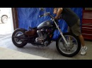 Honda Shadow VLX 600 постройка боббера