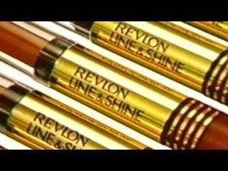 1998 - Commercial - Revlon - Line & Shine Lip Color - Cindy Crawford Lipstick