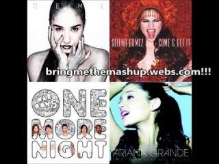 Demi Lovato vs. Selena Gomez vs. Ariana Grande vs. Maroon 5 - Heart Attack Mini Mix (Mashup)