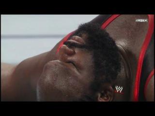 Биг Шоу и Марк Генри сломали ринг!!!