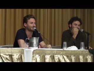 Boston Comic Con 2013 - Дин О'Горман и Эйдан Тернер (рус. субтитры)