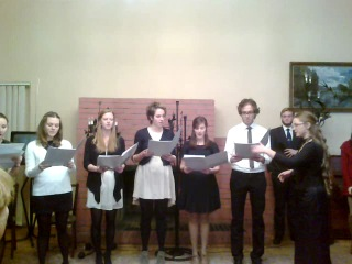 Christmas Carols in Russian by American Herzen Students' Choir