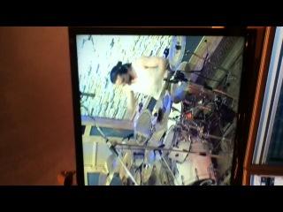 The belch drums in studio