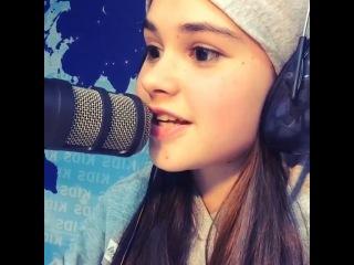 радио radio kidsFM cool Анфиса Вистингаузен instragram